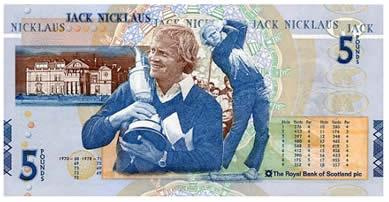 ジャック・二クラウス紙幣