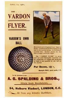 昔のゴルフボール