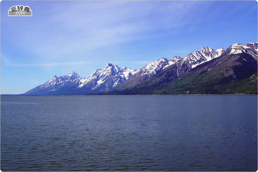 ホーム > グランド・ティートン国立公園 > 写真集トップ > ジャクソン湖 北側  (Jackson Lake North)